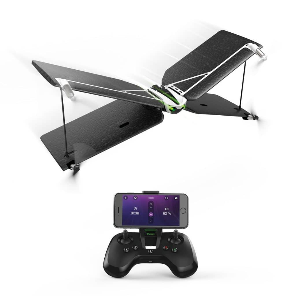 test de l 39 avion t l command parrot swing un mini drone pas cher. Black Bedroom Furniture Sets. Home Design Ideas